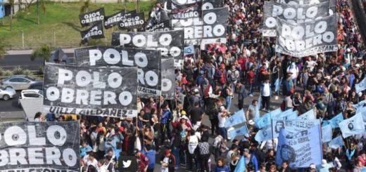 Un manifestante cayó al vacío desde la autopista 25 de Mayo durante la protesta de las agrupaciones sociales