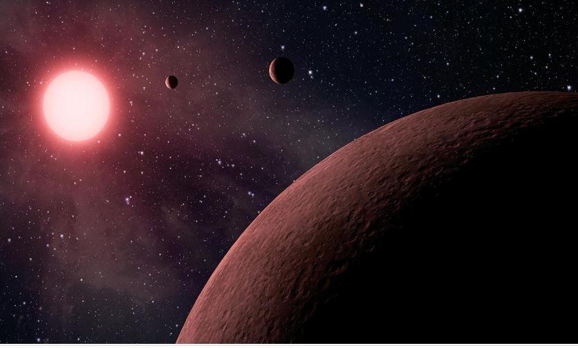 La NASA encontró tres exoplanetas y uno está en una «zona habitable»