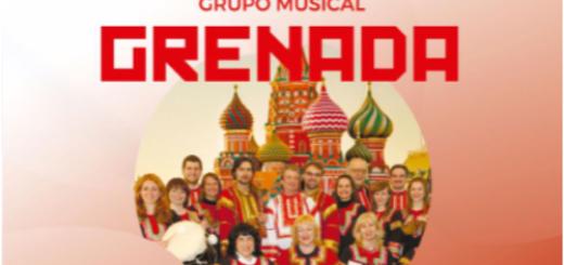 Directamente desde Rusia: el Grupo Grenada se presentará en Oberá