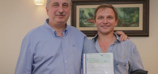 Passalacqua entregó distintas ayudas económicas a entidades y municipios