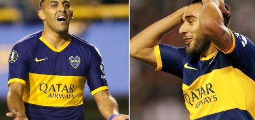 """Confirmado: """"Wanchope"""" Ábila y Eduardo Salvio se perderán el Superclásico"""