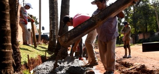 Posadas: la Municipalidad y el IProDHa iniciaron obras de construcción de veredas en la Chacra 135
