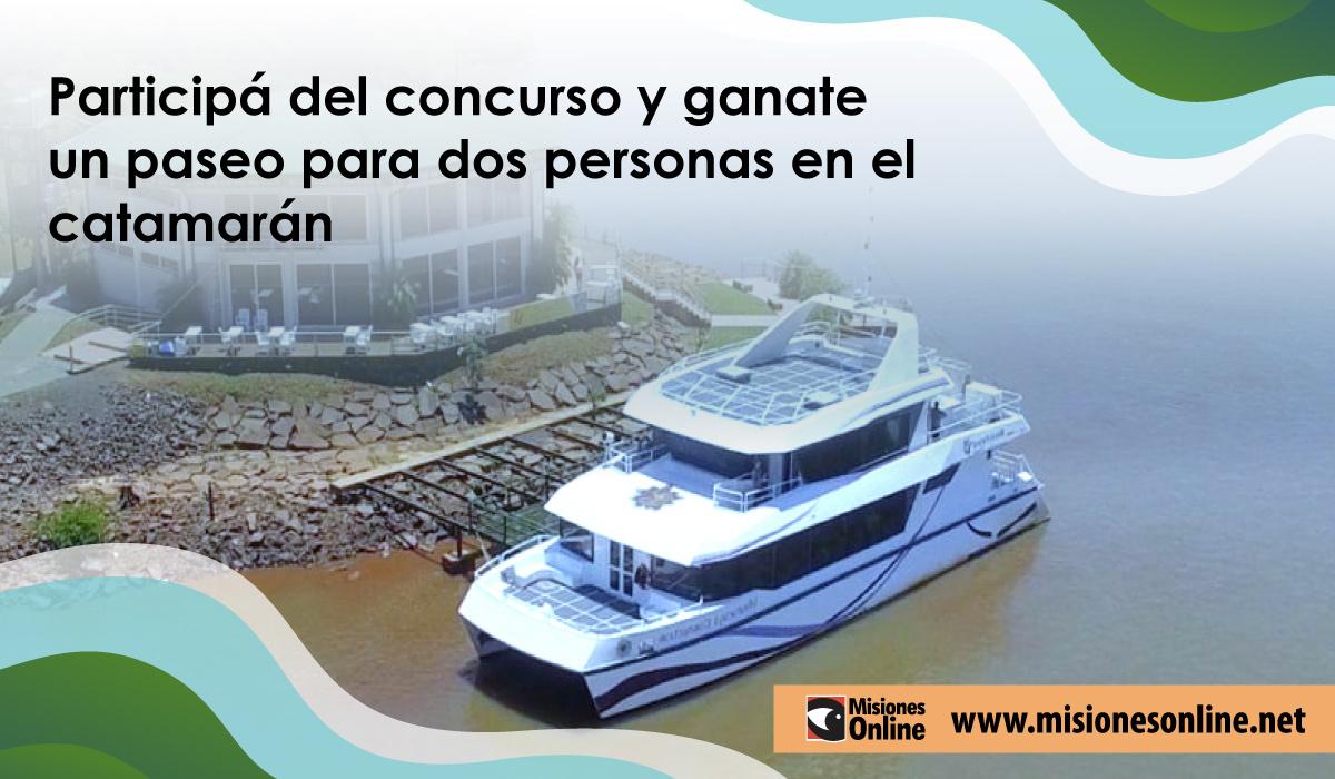 ¿Te imaginás disfrutar de una noche en el Catamarán? Participá de este concurso y ganate un paseo para dos personas