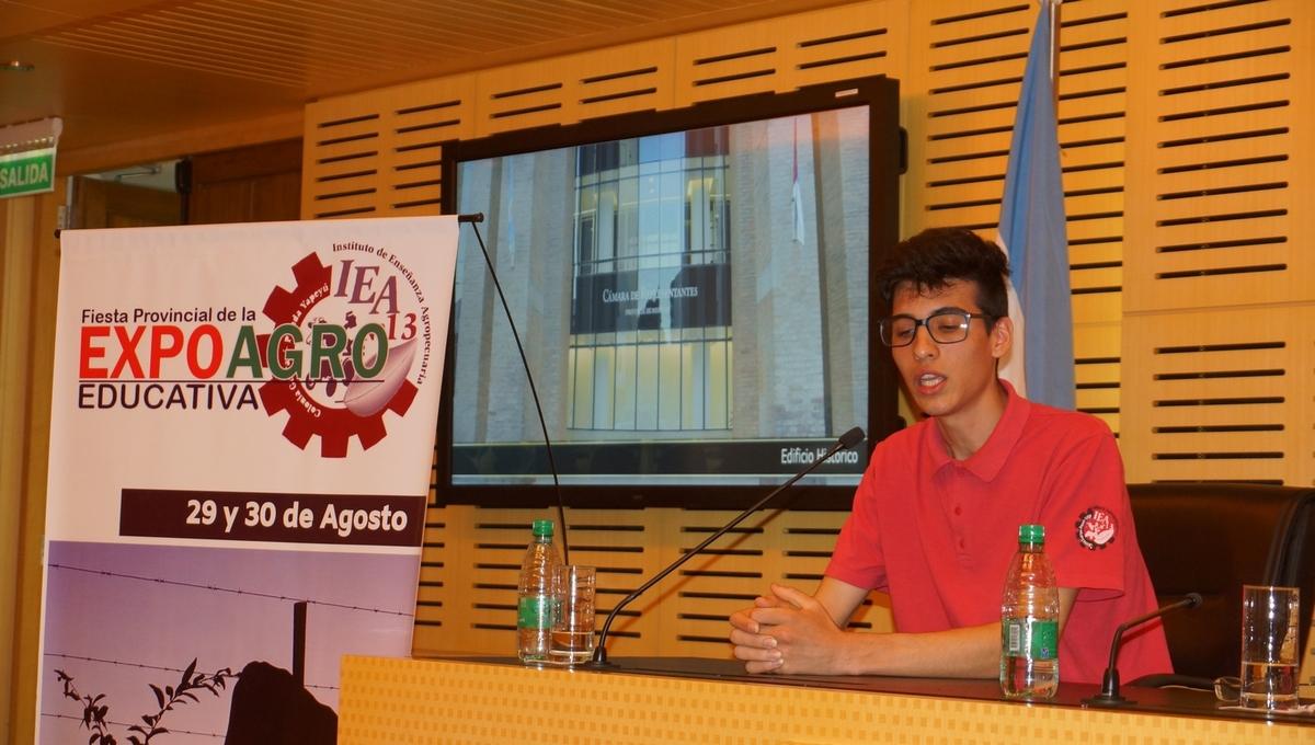 "Presentaron la primera Fiesta provincial de la ""Expoagro Educativa"""