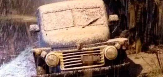 Intensa nevada en Mar del Plata cubrió la ciudad de blanco