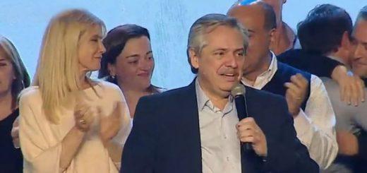 #PASO 2019: Alberto Fernández obtuvo una contundente victoria sobre el presidente Macri y le sacó 15 puntos