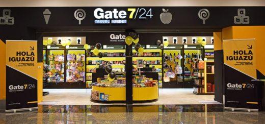 """El aeropuerto internacional de Iguazú inaugura su tienda """"Gate 7/24"""""""