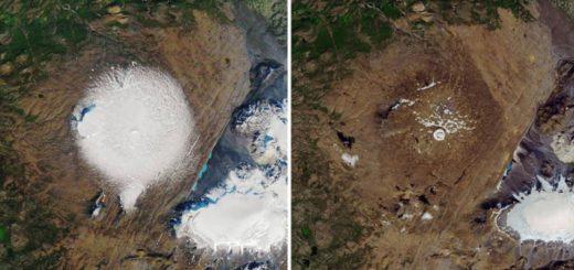 """Medio ambiente: Islandia realiza su primer """"funeral"""" por un glaciar muerto"""