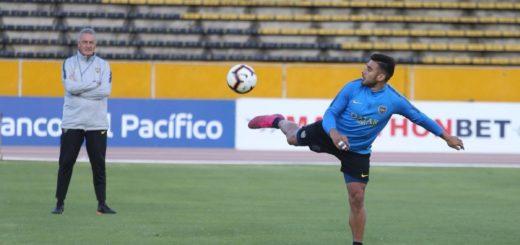 Copa Libertadores: Alfaro confirmó los once para enfrentar a Liga de Quito