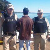 En un operativo internacional, detuvieron a un narcotraficante en Andresito