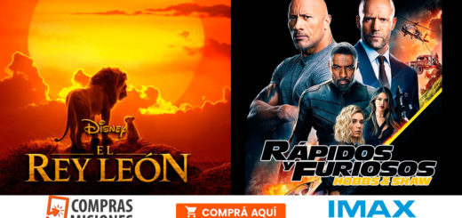 El Rey León y Rápidos y Furiosos te siguen esperando en el IMAX...Adquirí aquí las entradas por Internet