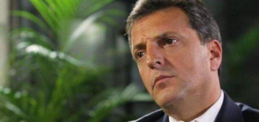 """Massa: """"Desafío a Macri a que cuente cómo eliminará las retenciones al campo"""""""