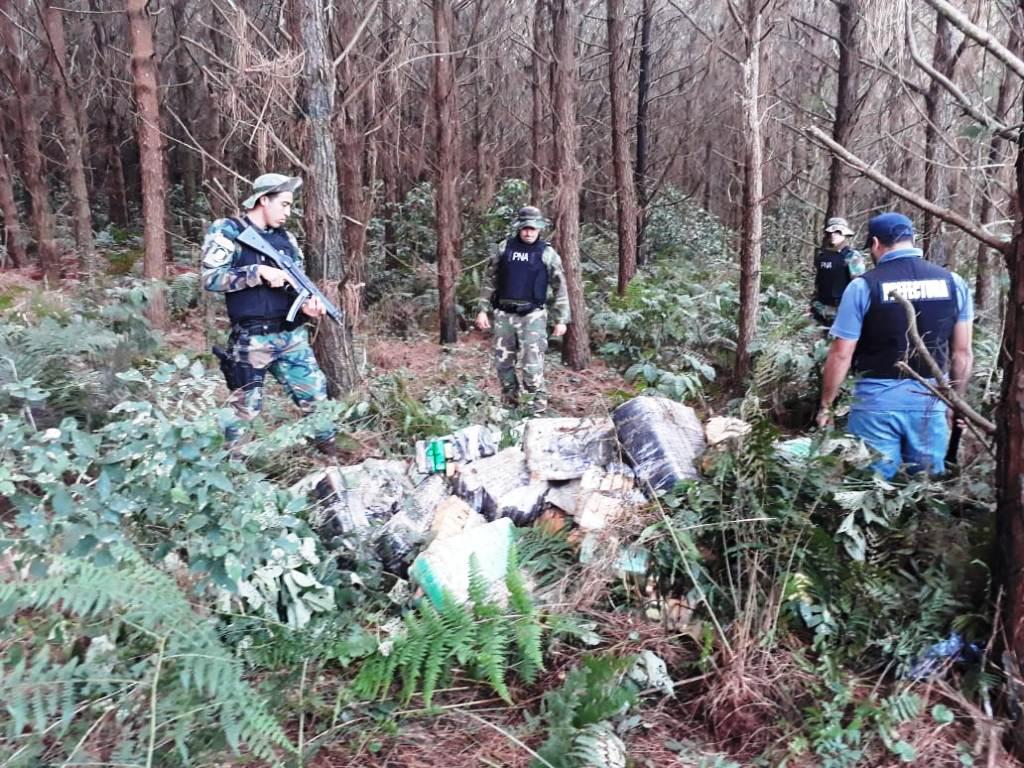 Prefectura incautó cerca de 5 toneladas de marihuana en Puerto Libertad