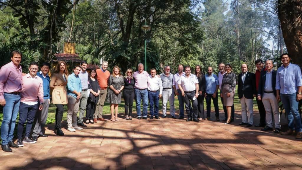 Passalacqua y Herrera Ahuad compartieron una reunión de trabajo con las autoridades de la UNaM