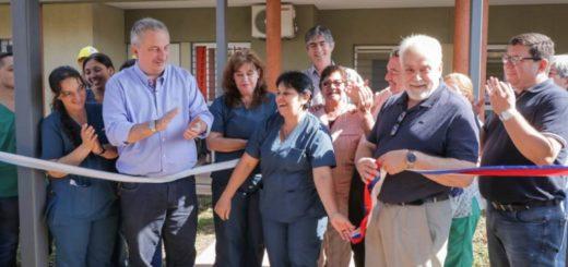 Passalacqua inauguró obras de ampliación en el Hospital Monoclínico de Geriatría Miguel Lanús