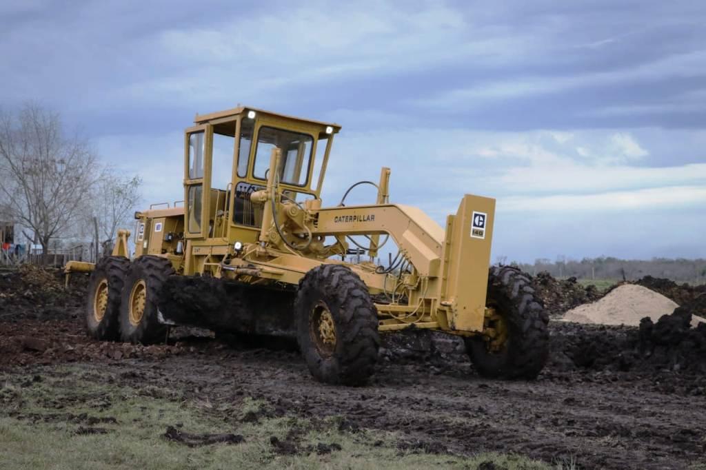 Passalacqua recorrió el inicio de obras de pavimento de la ruta provincial 204, en el acceso a Profundidad