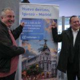 Macri viene a Iguazú para recibir el vuelo que une a Misiones con Europa