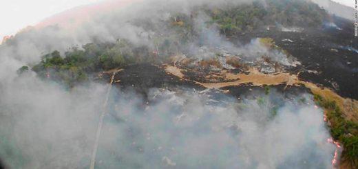 El humo por los incendios de la Amazonía llegó a la Argentina
