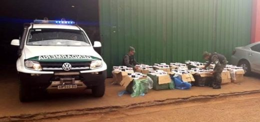 Gendarmería secuestró cigarrillos por un millón y medio de pesos en Puerto Iguazú