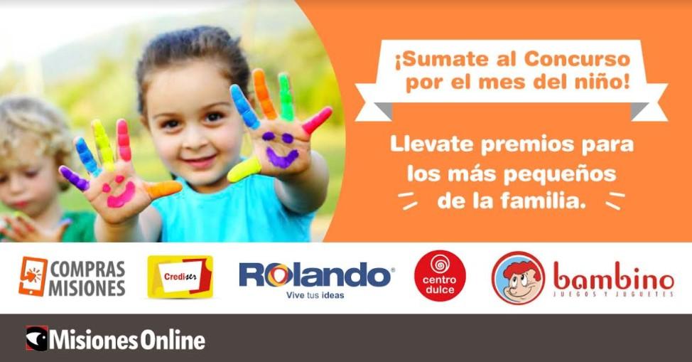 Concurso por el Día del Niño: ingresá, participá y llevate los mejores premios!!