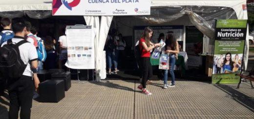 La Cuenca del Plata dio a conocer su amplia oferta académica en la Expo Posadas Ciudad Universitaria