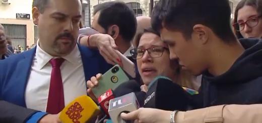 """La mamá de la ahijada de Jonathan Fabbro: """"Acá no hay alegría, solo hay Justicia"""""""