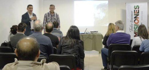Iguazú: presentan el proyecto de la nueva Terminal Fluvial en el ITUREM
