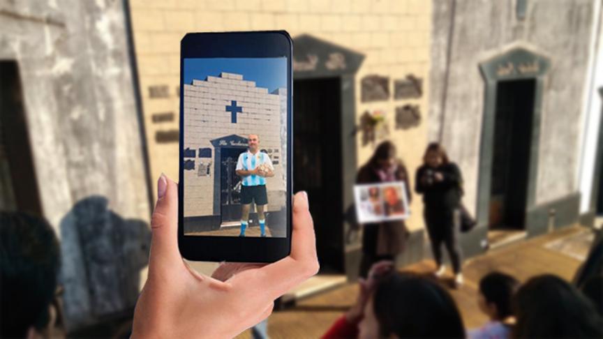 """Personajes históricos de Posadas cobran vida a través de una App del cementerio """"La Piedad"""""""