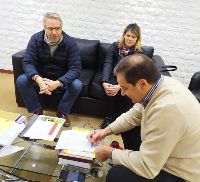 La Facultad de Arte y Diseño renovará su Espacio INN a través de un contrato de comodato con el Ministerio de Agro