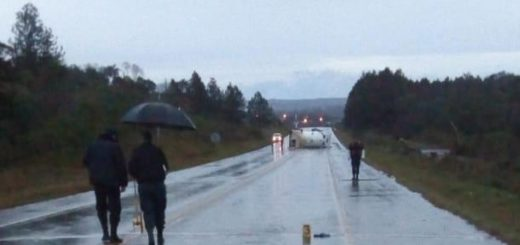 Campo Viera: un camión atropelló a un peatón y volcó en la ruta 14