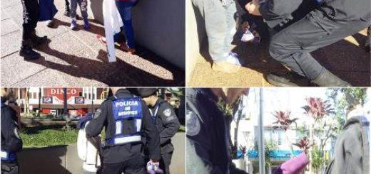Oberá: Policías asistieron y abrigaron a dos hermanitos que se encontraban en la vía pública