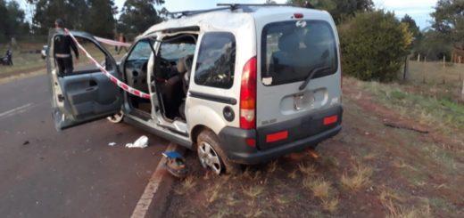 Identificaron a las víctimas fatales del accidente en Pozo Azul