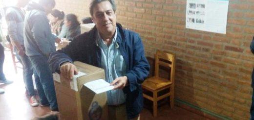 #PASO2019 Alfredo Schiavoni votó e instó a los misioneros a que ejerzan ese derecho