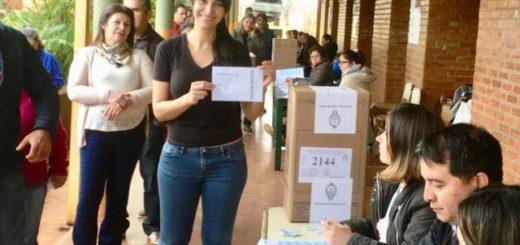 #PASO2019 Cristina Britez emitió su voto y destacó que los misioneros se están acercando a votar