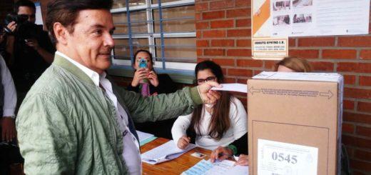 #PASO2019: votó el conductor de la Renovación de Misiones, Carlos Rovira