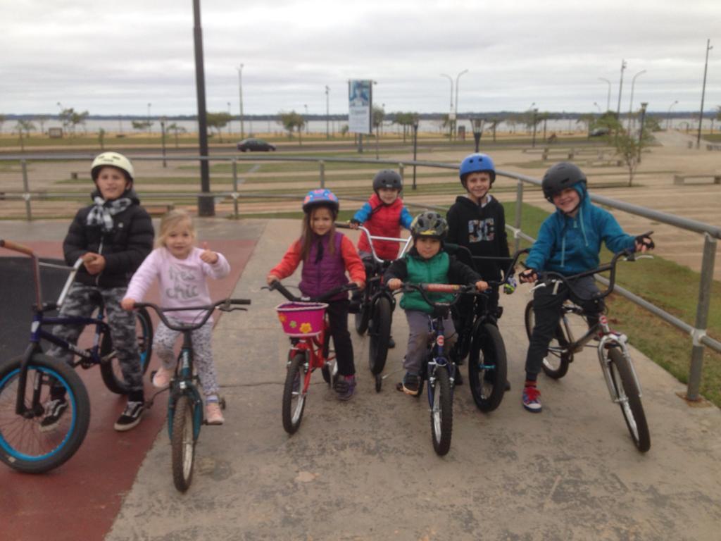 Celebrarán el Día del Niño con una exhibición de BMX en la Costanera de Posadas