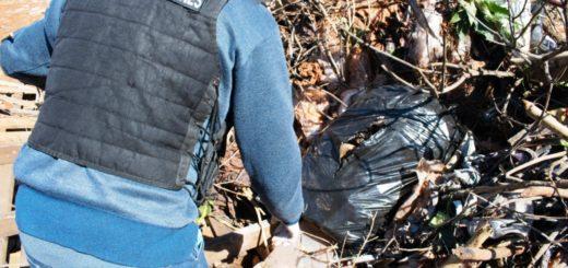 La Policía secuestró más de 100 kilos de marihuana que estaban tirados en un basural del barrio Giovinazzo de Posadas