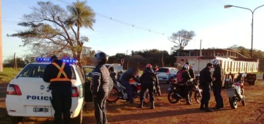Operativo Alto Impacto: la Policía de Misiones detuvo a 22 personas y secuestró 45 vehículos entre motos y automóviles