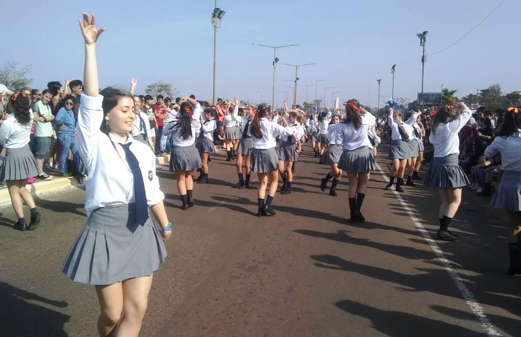 #Estudiantina 2019: se desarrolló la prueba piloto en la Costanera de Posadas
