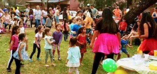 Eldorado: por el dia del niño, cientos de chicos disfrutaron de fiestas en diversos barrios