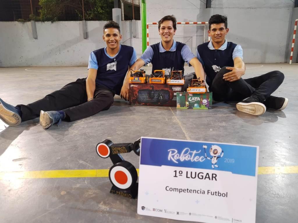 La EPET 25 de Campo Grande volvió a ser la mejor de la Liga Nacional de Robótica