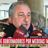 Herrera Ahuad pidió que las medidas del gobierno nacional sean consultadas con las provincias que se verán afectadas