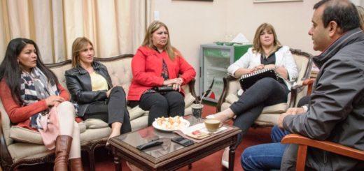 Herrera Ahuad se reunió con intendentas de municipios donde se impuso la boleta corta