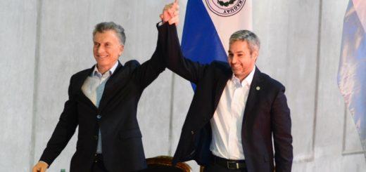 Los presidentes Macri y Abdo Benítez inauguraron el paso internacional Ituzaingó-Ayolas