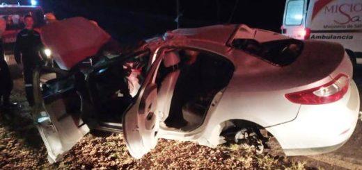 Identificaron al motociclista que falleció tras chocar con un automóvil en Ruta Provincial 13