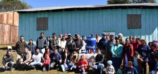 Entregan potabilizadores de agua a cuatro escuelas de El Soberbio