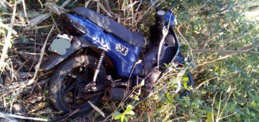 Jardín América: policías recuperaron una moto robada