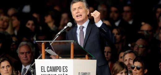 """Macri, en la Rural: """"Estamos saliendo más fuertes de la crisis que atravesamos"""""""