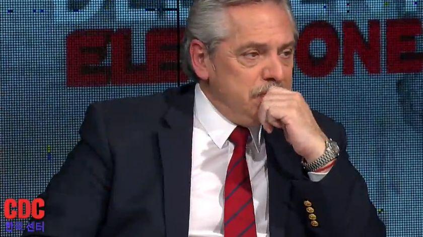 Alberto Fernández: «El primer defensor de que Macri termine su mandato voy a ser yo»