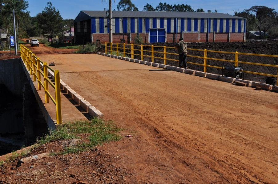 Vialidad anunció la habilitación del puente sobre el arroyo Mártires de Posadas